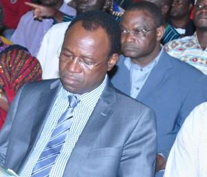 Le président de la FBVB, Casimir Sawadogo