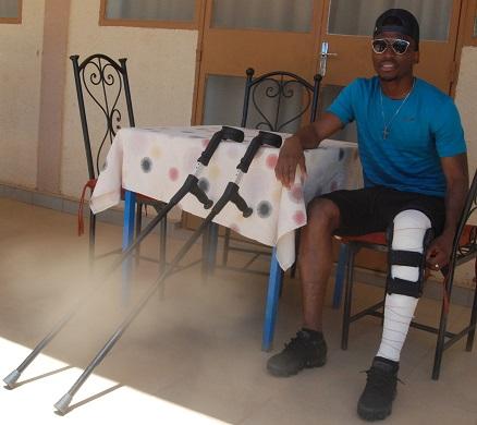 JONATHAN ZONGO : «Je suis sûr de revenir sur les terrains et encore plus fort»