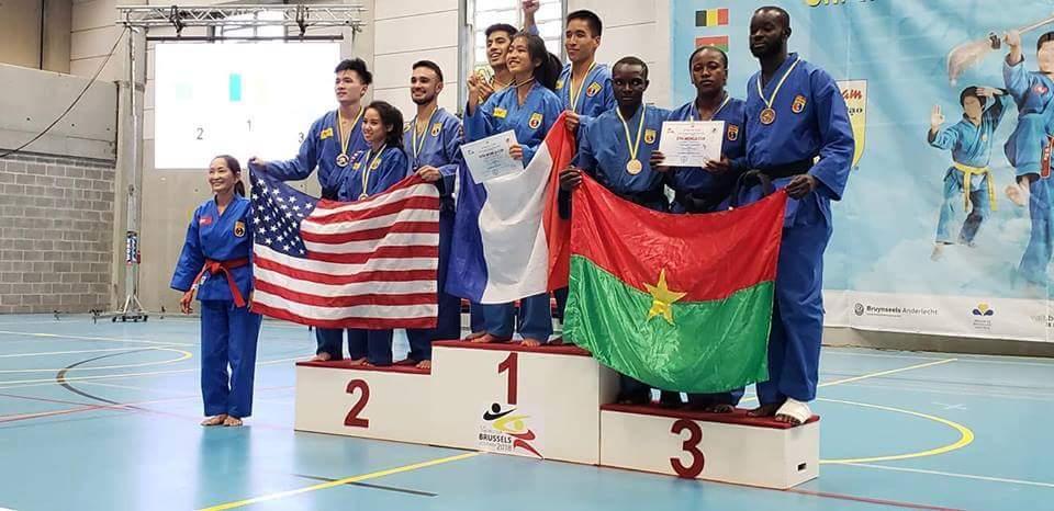 COUPE DU MONDE VIET VO DAO :  le Burkina termine 3e avec 15 médailles dont 7 en or