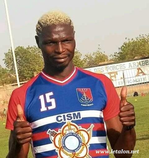 FASOFOOT: Aristide Bancé élu joueur AJSB du mois d'Avril