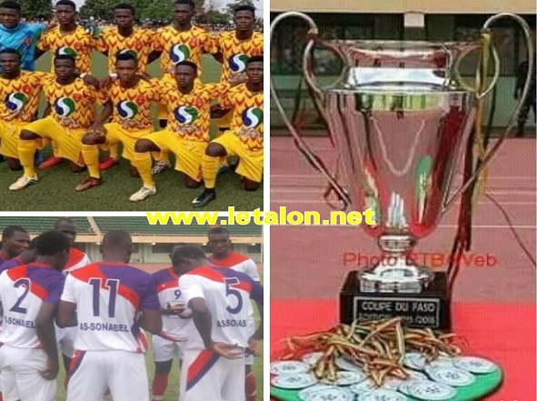 COUPE DU FASO 2019 : Une finale AS SONABEL # RAHIMO FC le 26 mai