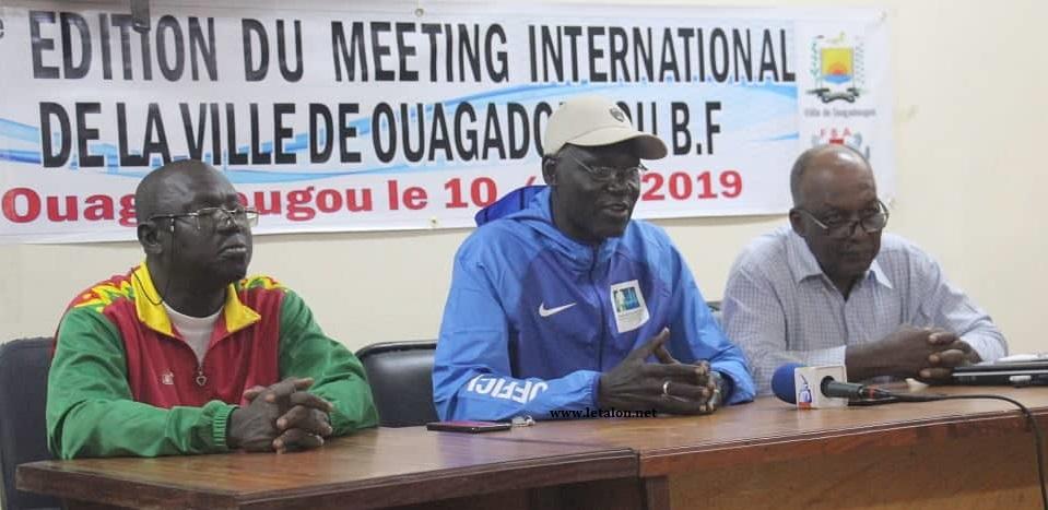 MEETING INTERNATIONAL DE LA VILLE DE OUAGA 2019: Les athlètes attendu ce vendredi 9 août