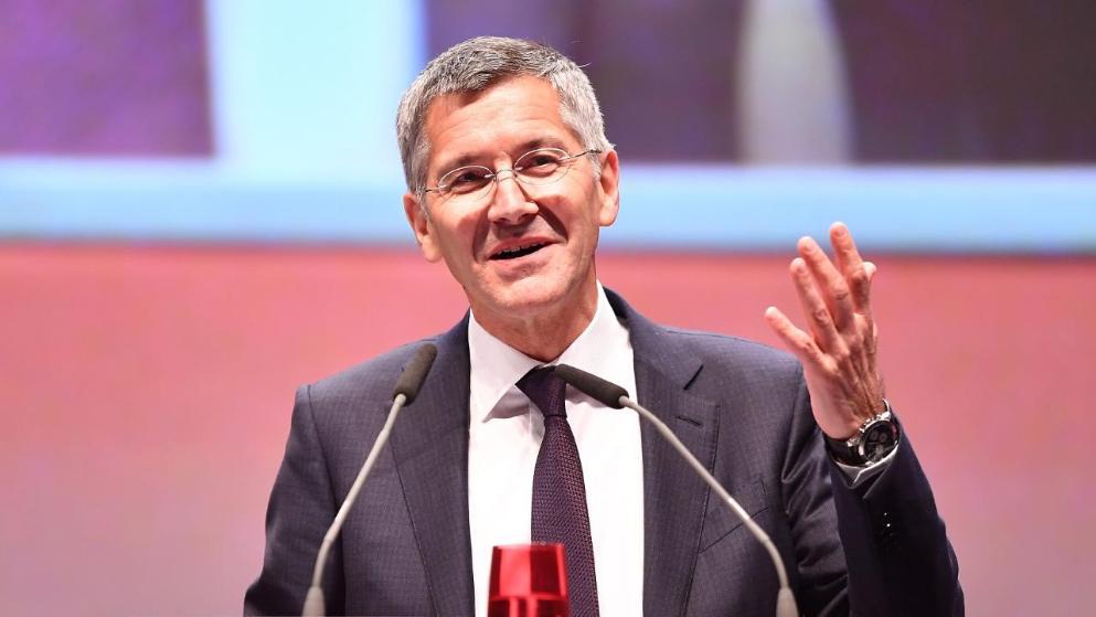 Bayern Munich : l'ancien boss d'Adidas Herbert Hainer nouveau président