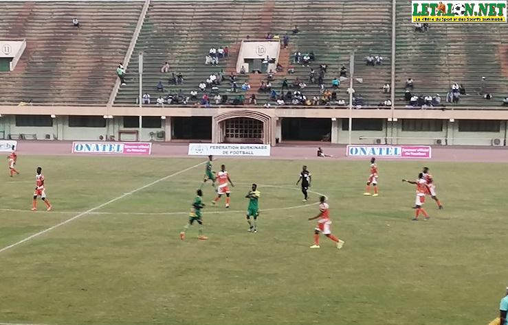 20e journée Fasofoot : SALITAS FC et l'ASFA-Y dos à dos