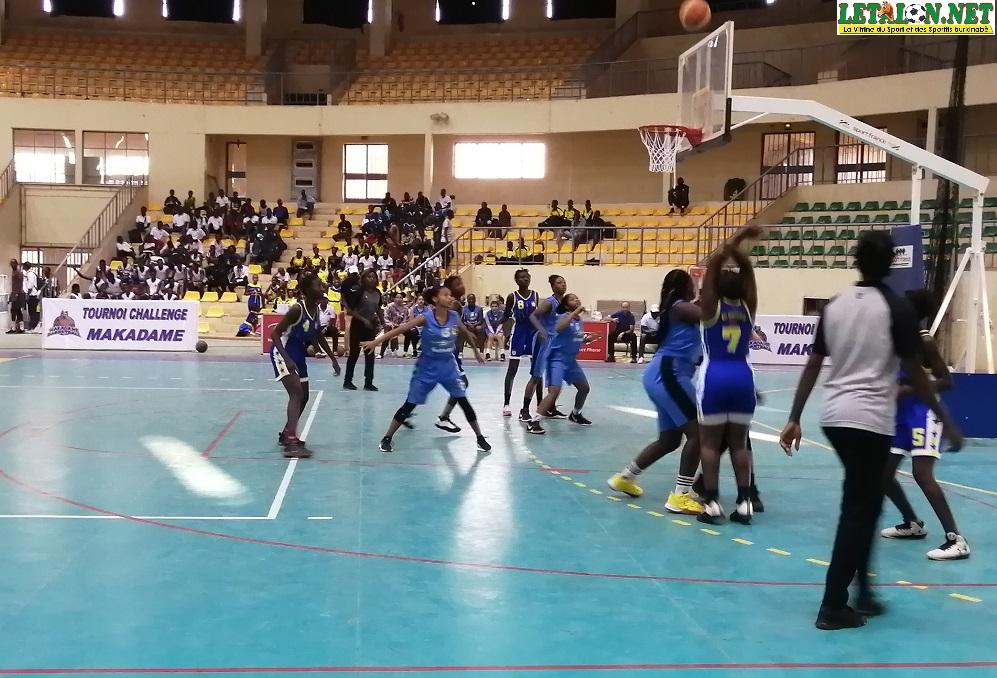 Basket-Burkina : Makadam challenge pour relancer la discipline chez les tout-petits
