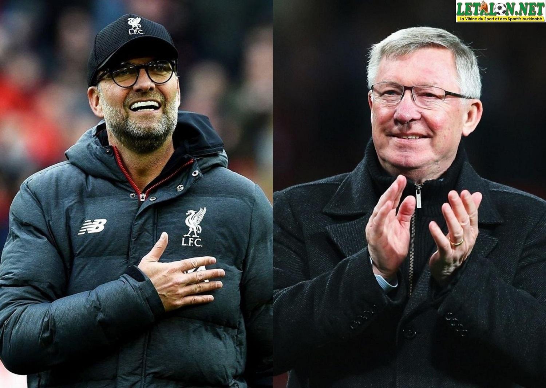 Premier League : Alex Ferguson félicite Jürgen Klopp
