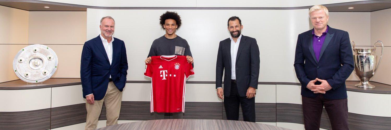 Bayern : Leroy Sané a signé (officiel)