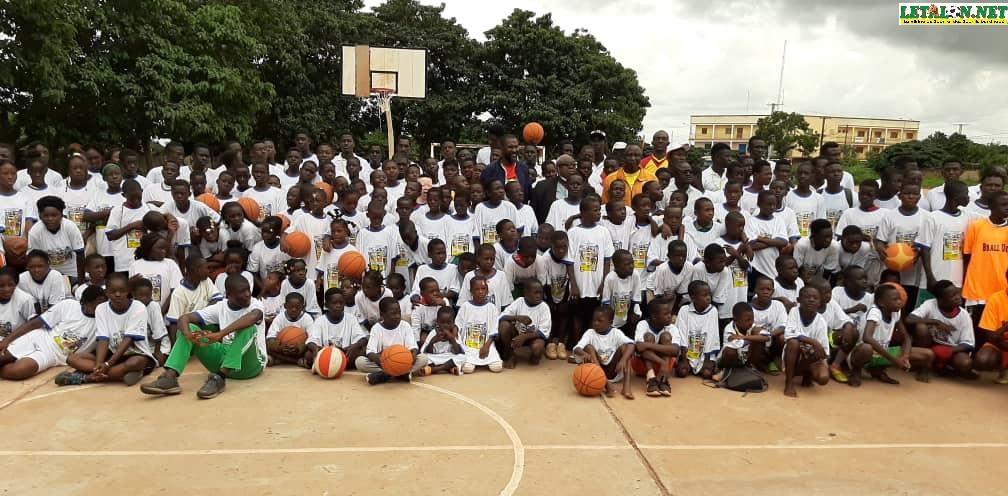 Première édition Moving Sport Camp: Sylvain Zingué a relevé le défi!