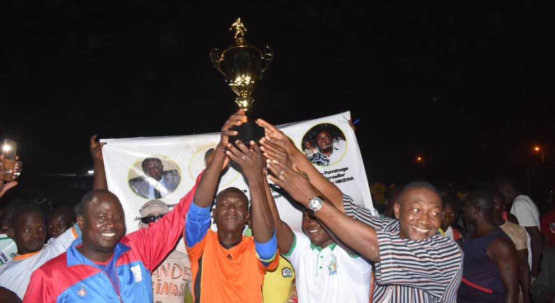 Tournoi maracana de l'ADJ : Katanga FC soulève le trophée de la première édition