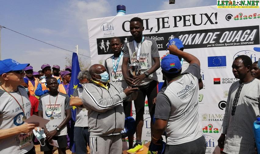 5e édition 10 km de Ouaga: Inoussa Simporé et Samatou Tindé au sommet !