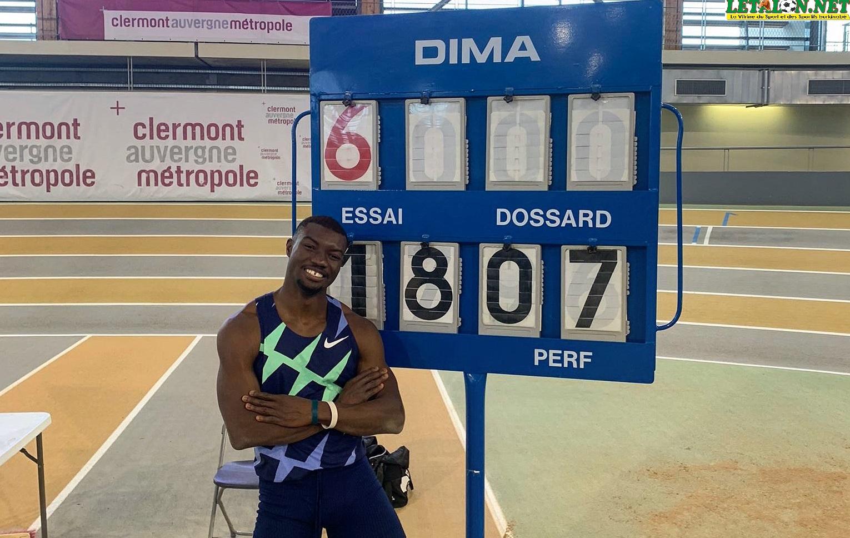 Triple Saut: Fabrice Zango explose le record du monde avec 18. 07 m