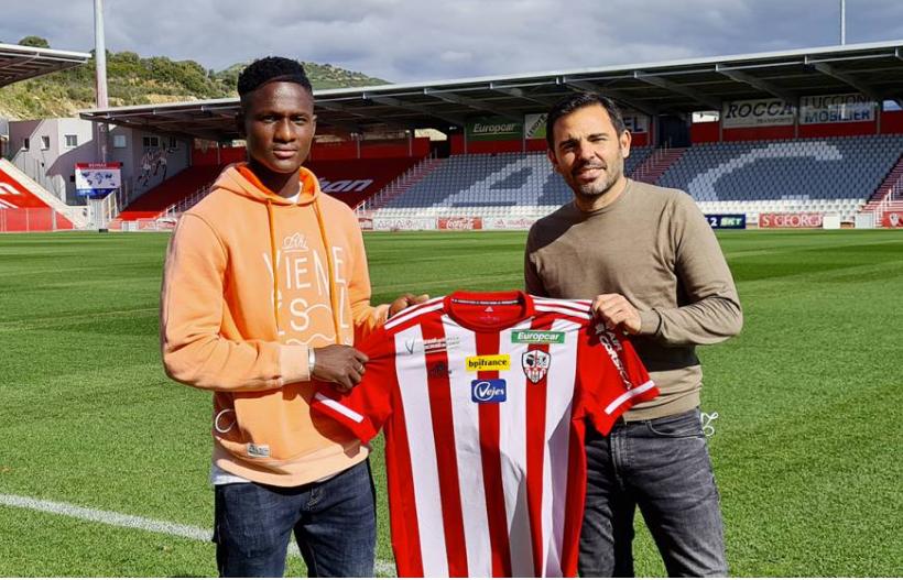Ligue 2 : Botué Kouamé signe à l'AC Ajaccio (Officiel)