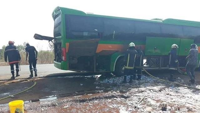 Incendie du car de SALITAS FC: ce qui s'est réellement passé