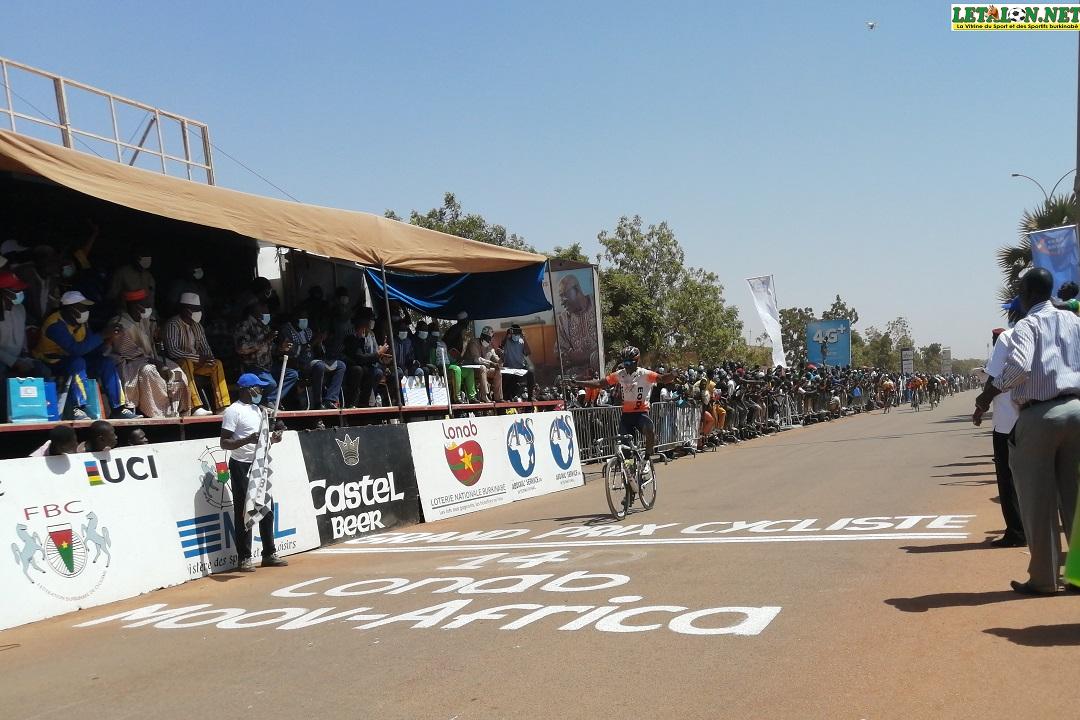 Course cycliste grand prix 14 : Noufou Minoungou remporte la 4e édition