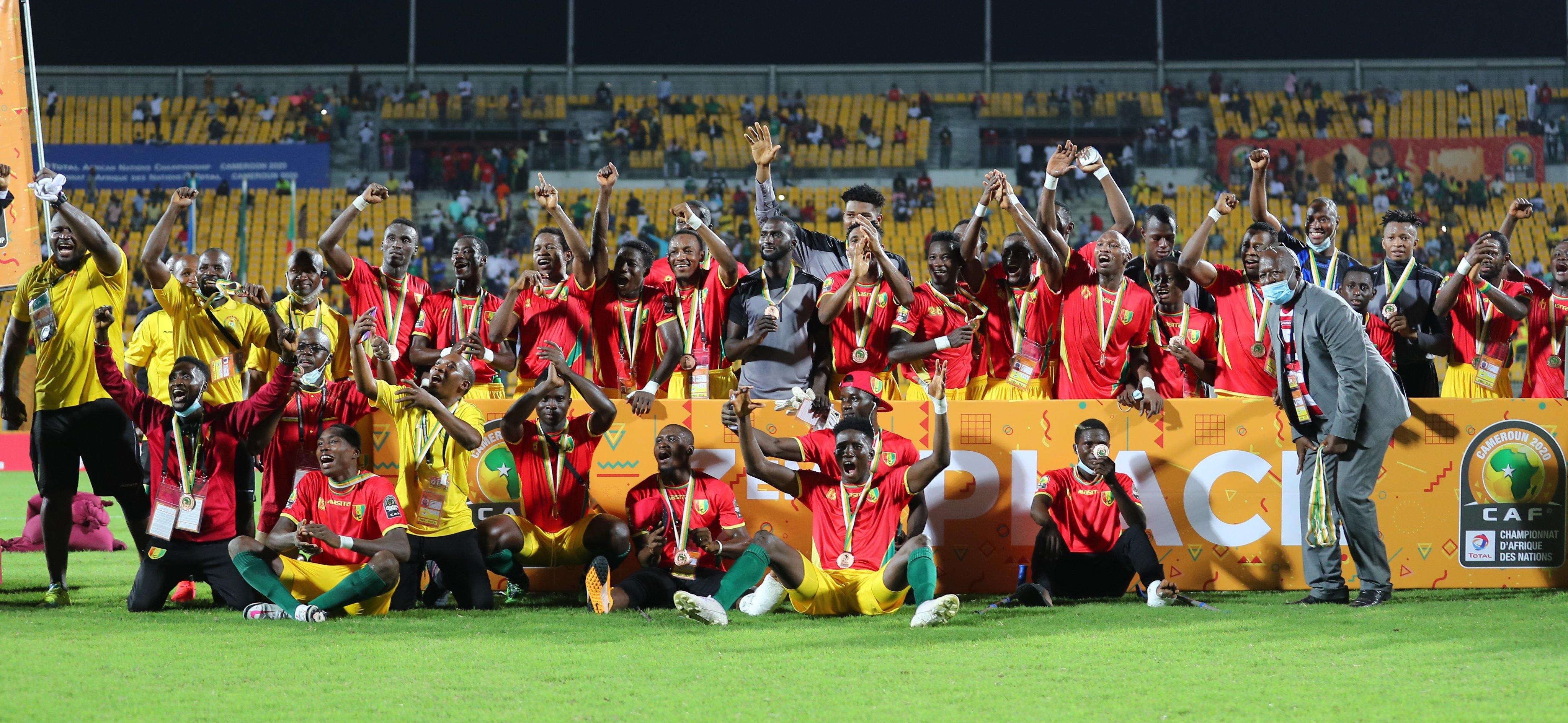 CHAN 2020: la Guinée en bronze