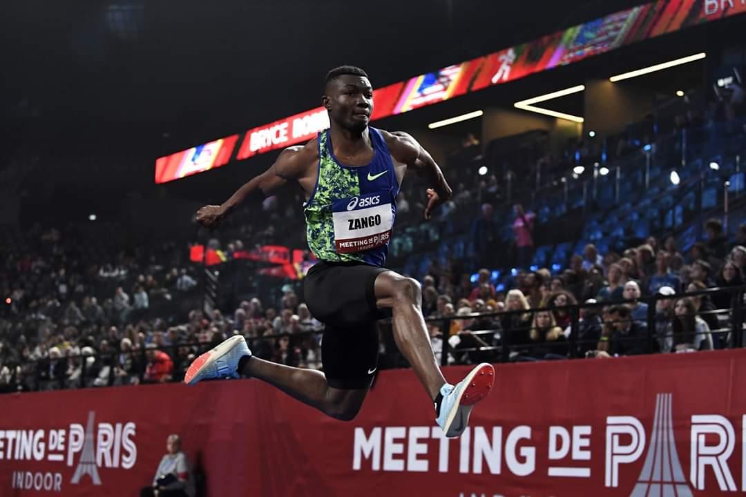 Montreuil : l'or et le record du meeting pour Fabrice Zango