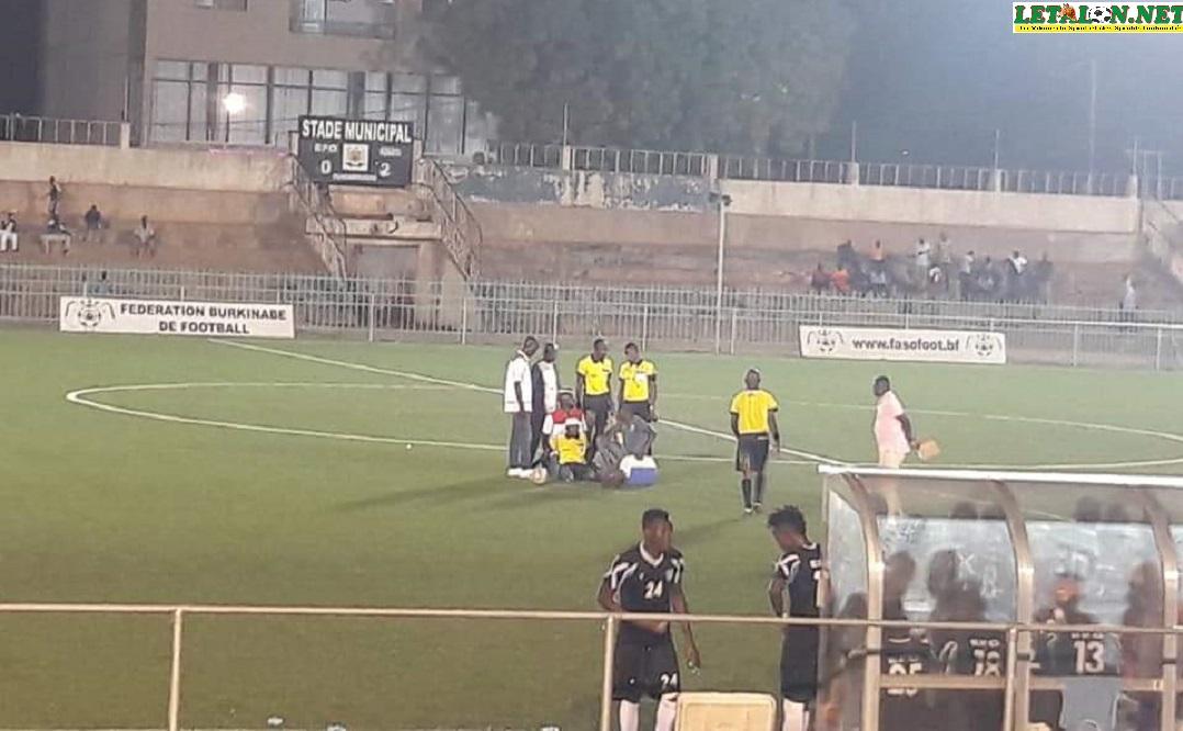 Incidents du match EFO # AS SONABEL: amende de 500 000 FCFA, forfait et huis clos pour l'Etoile