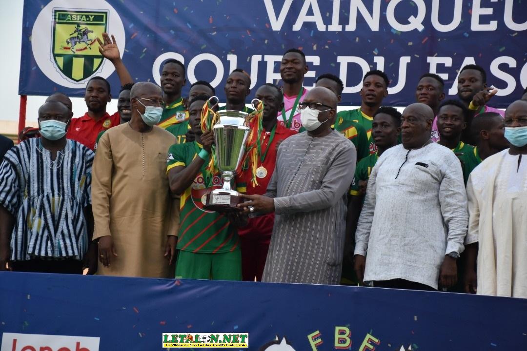 Coupe du Faso 2021: l'ASFA-Y s'offre un 5e sacre!