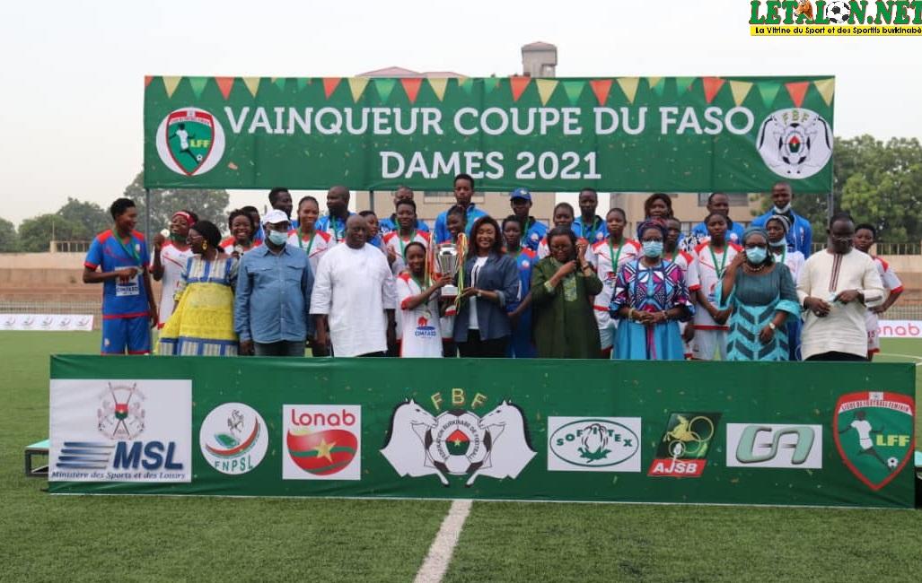 Coupe du Faso féminine : Etincelles FC illuminent la finale