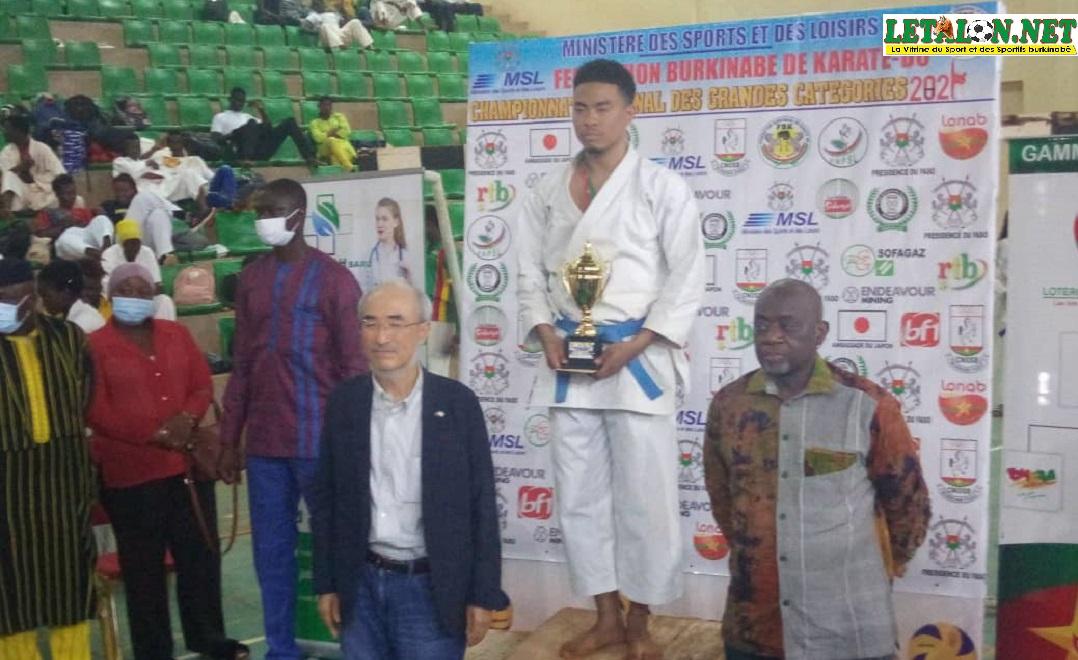 Championnat national karaté-do 2021: Allan Sanou, meilleur athlète de la compétition