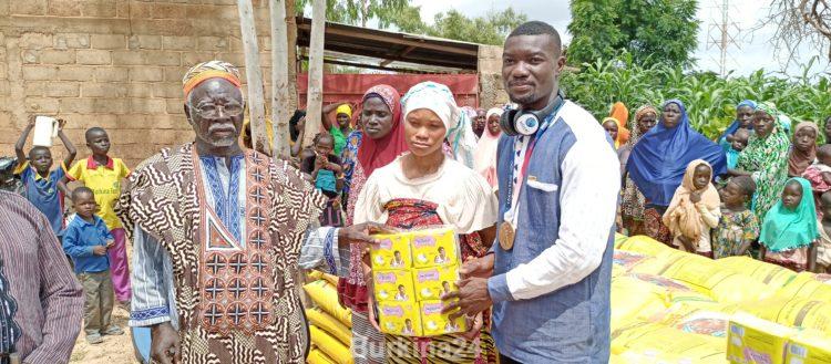 Oeuvres sociales et humanitaire: l'autre rêve de Hugues Fabrice Zango