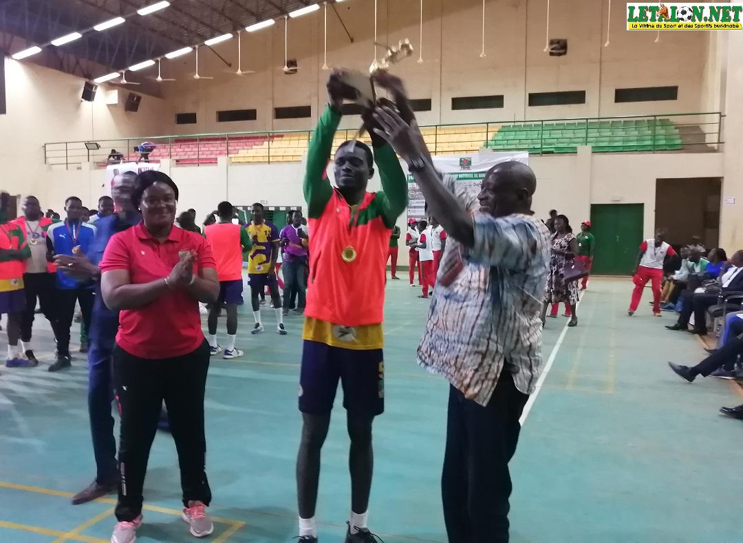 Championnat national handball seniors hommes : l'AS SONABEL sacrée au bout du suspense
