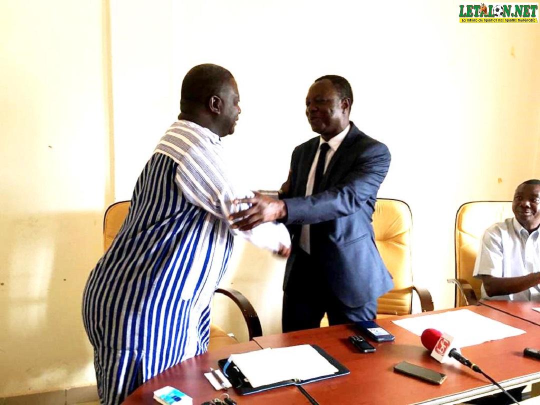 Palais des sports Ouaga 2000: le DG Alexandre Yougbaré prend fonction