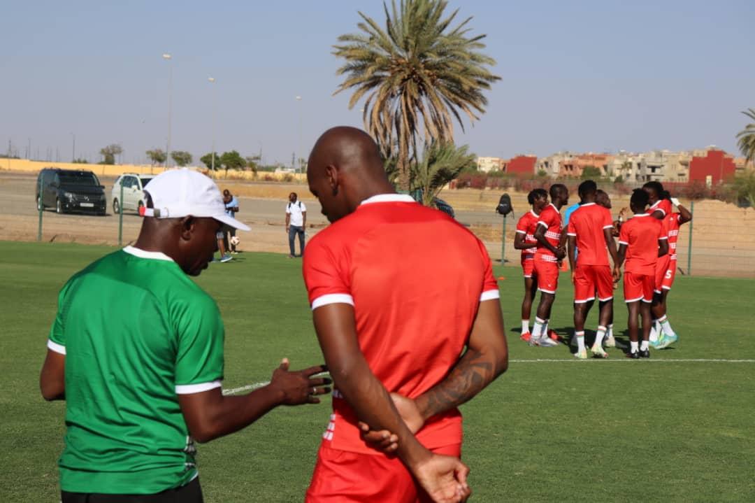 Matchs Niger # Burkina et Burkina # Algérie : «C'est l'opportunité pour les jeunes à jamais de montrer qu'ils sont capables», Kamou Malo