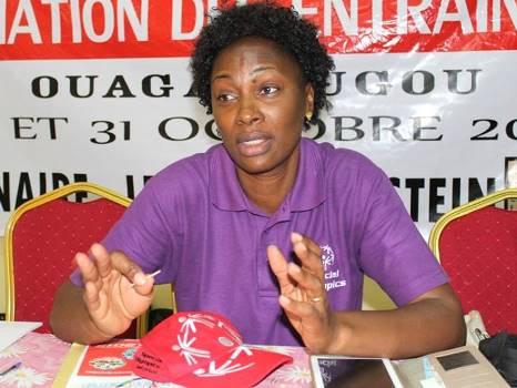 Special Olympics Burkina: Annick Pikbougoum devient membre du Conseil de leadership africain