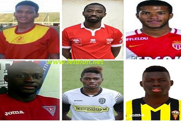 MATCHES AMICAUX CONTRE LE MAROC ET LE NIGERIA : A la découverte des 6 nouveaux membres de la famille Etalons