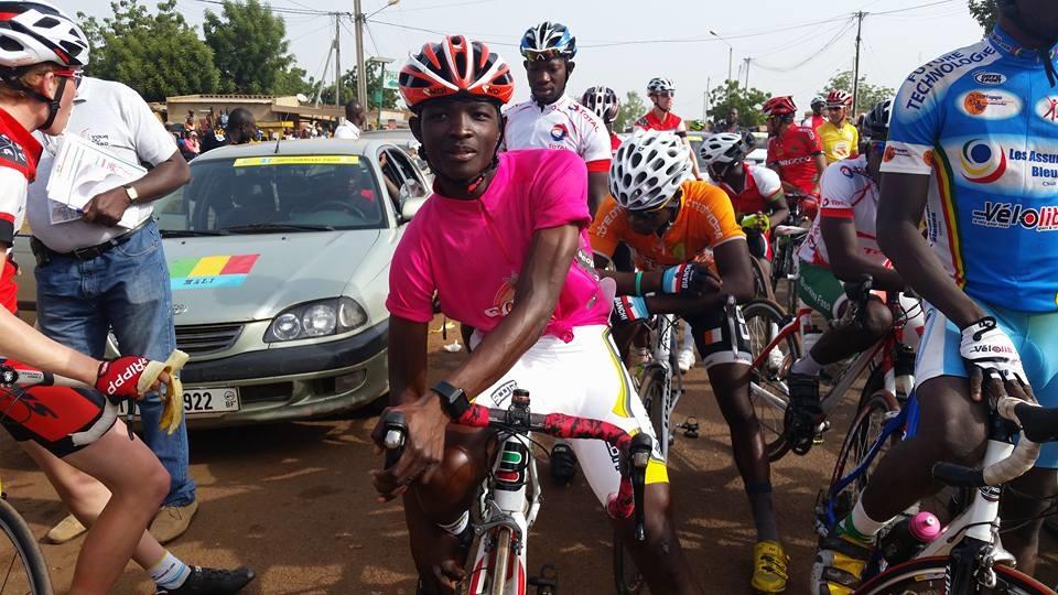 3e ETAPE TOUR DU TOGO 2017: Abdoul Aziz Nikiéma arrive 2e