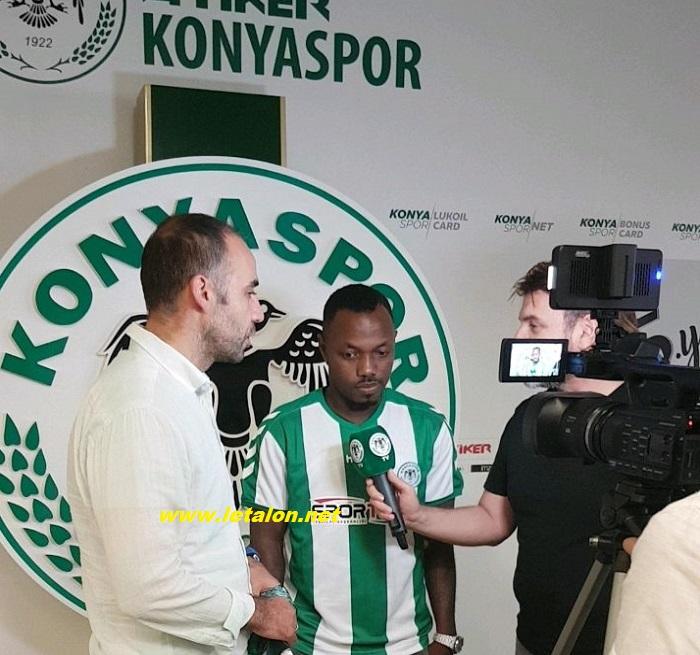 EXCLUSIVITE LETALON.NET : Abdoul Razack Traoré a signé à Konyaspor