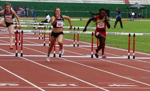 8es JEUX FRANCOPHONIE: Marthe Koala qualifiée pour la finale du 100 m haies
