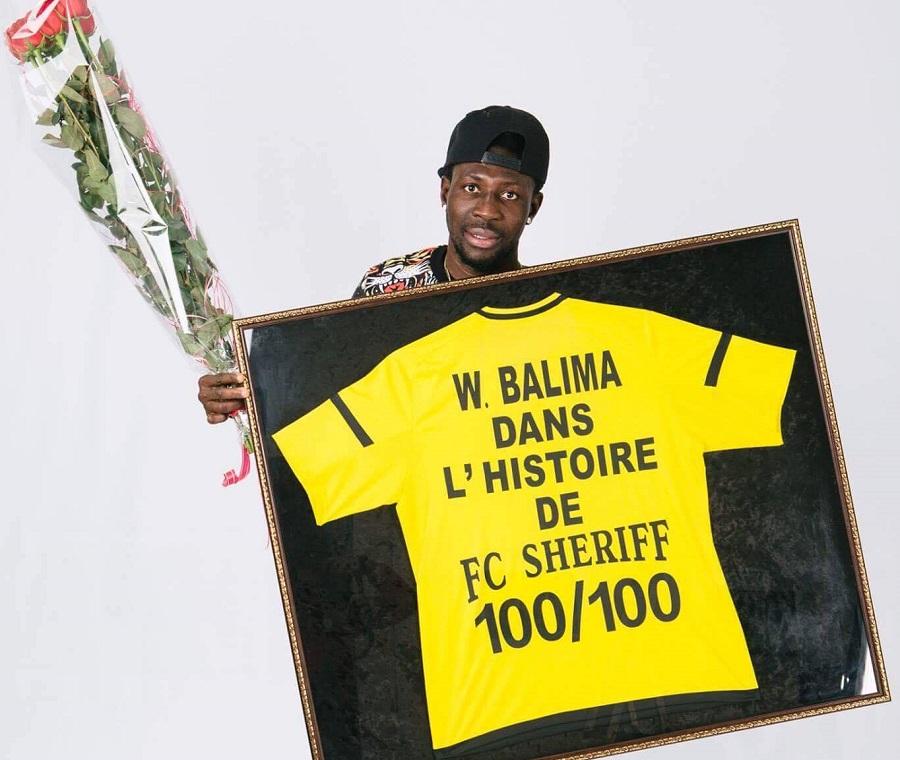 FC SHERIFF TIRASPOL: Wilfried Balima dans l'histoire du club