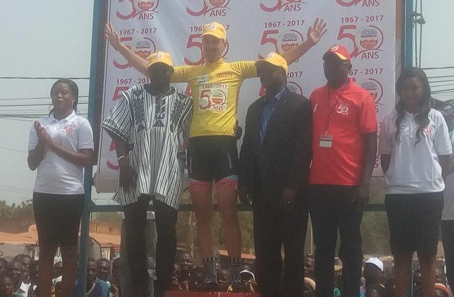 TOUR DU FASO 2017 : 5e étape et maillot jaune pour l'Allemand Benjamin Stroder