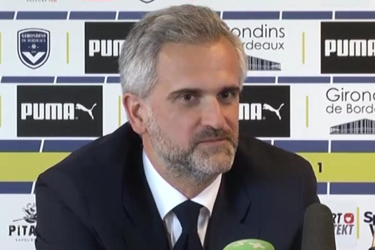 OUAGA: Stephane Martin, Pdt des Girondins de Bordeaux en visite officielle
