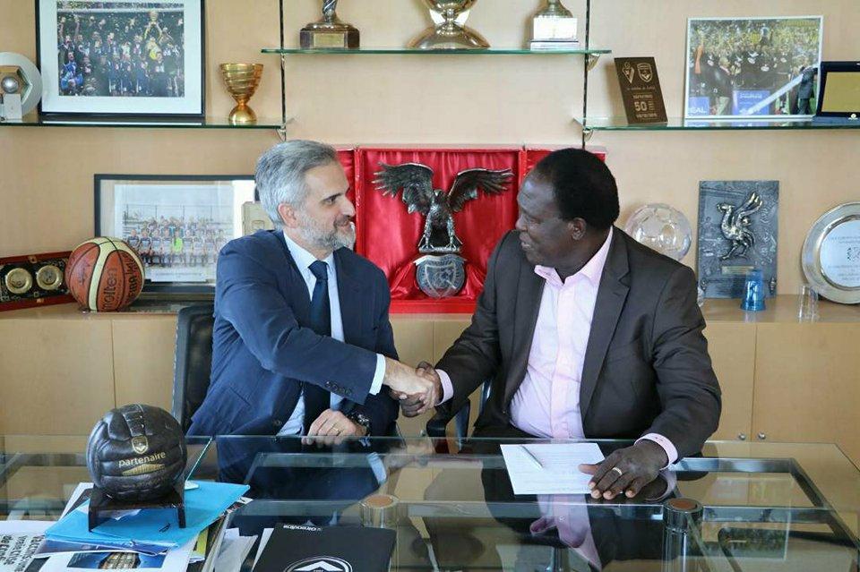 GIRONDINS DE BORDEAUX : Amado Traoré nommé ambassadeur club au Burkina