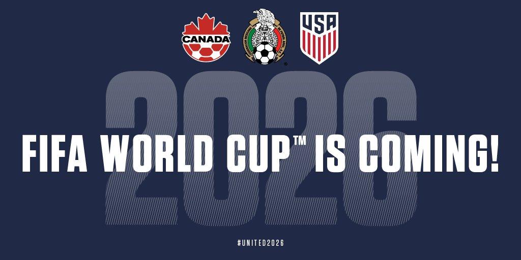 MONDIAL 2026: Ce sera pour le trio USA-Canada-Mexique