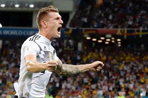 ALLEMAGNE#SUEDE: Kroos sauve la Mannschaft dans les ultimes secondes