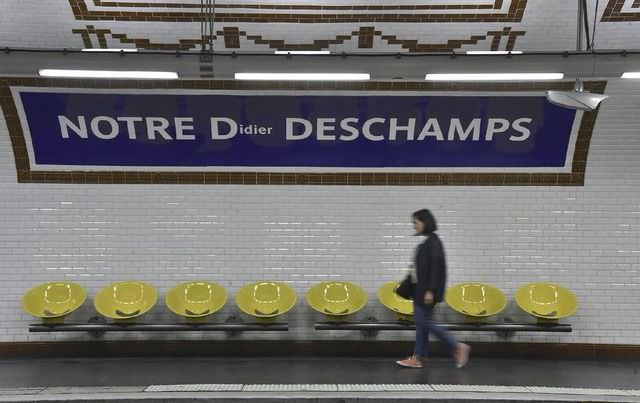 METRO PARISIEN: 6 stations renommées à la gloire des Bleus