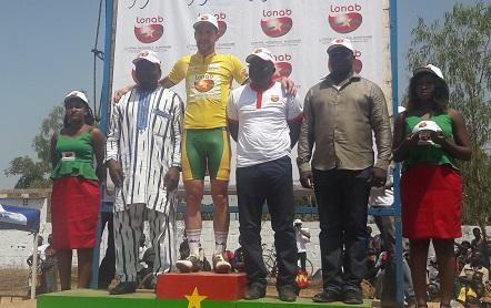 TOUR DU FASO 2018: le Néerlandais Florian Smits premier maillot jaune