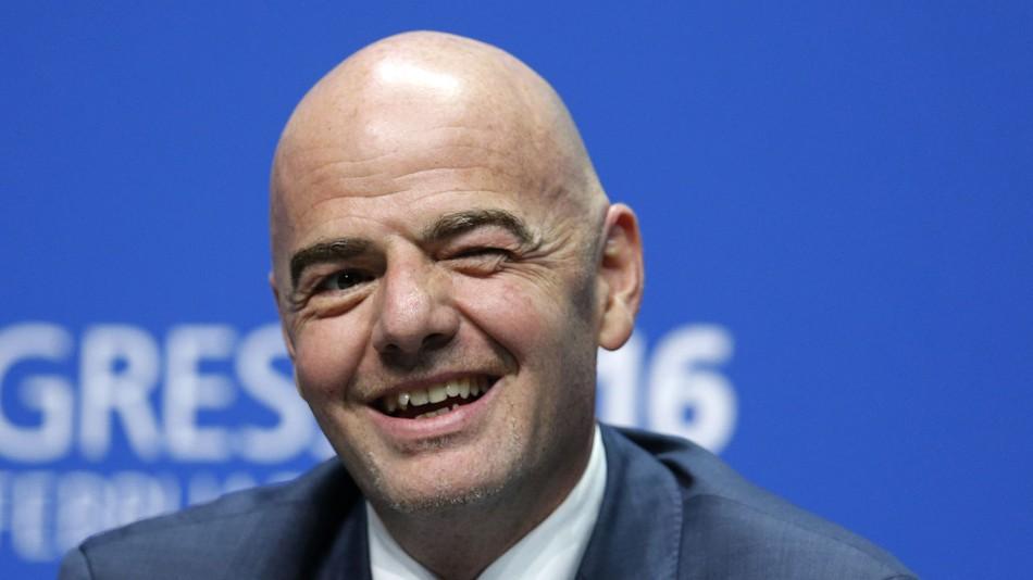 CAN : le président de la FIFA Infantino pour une édition chaque 4 ans