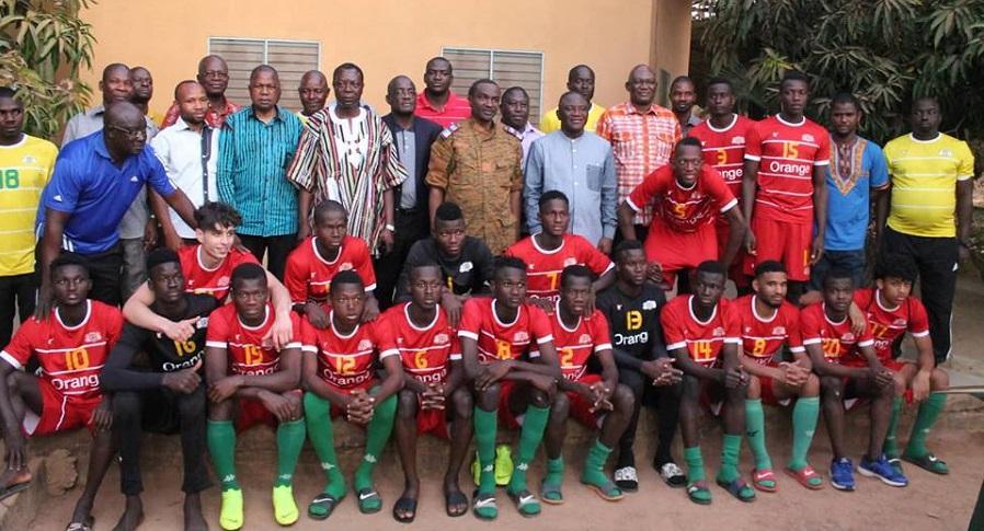 CAN U20 NIGER 2019: Les Etalons promettent les demi-finales au ministre Azoupiou