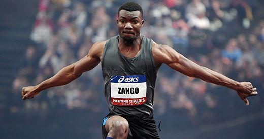 Meeting de Liévin: Hugues Fabrice Zango déçu malgré sa victoire