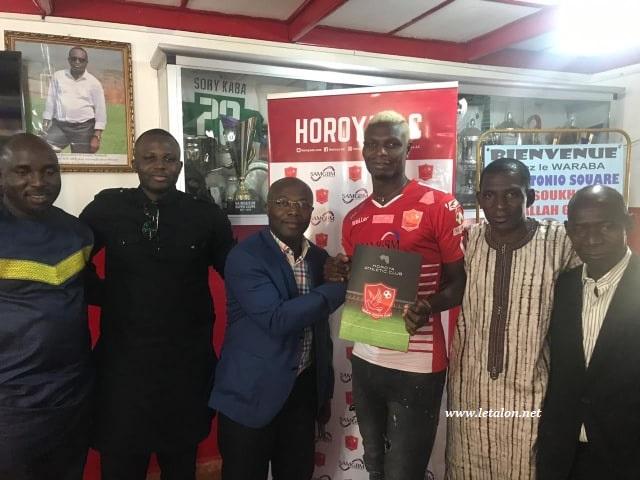 HOROYA AC : Aristide Bancé s'engage 2 saisons avec le champion de Guinée