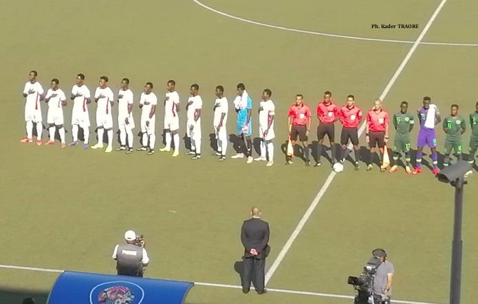 JEUX AFRICAINS/FOOTBALL : Le Burkina mène le Nigeria 2-0 (Mi-temps)