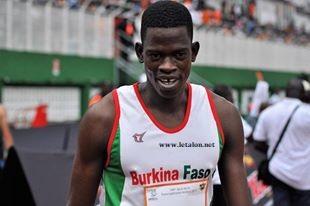 JEUX AFRICAINS/400 M HAIES: L'argent pour Bienvenu Sawadogo