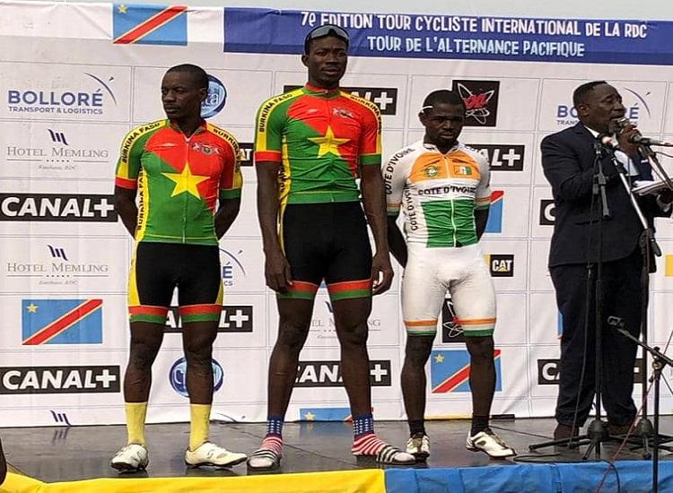 TOUR DE RDC 2019 : L'ultime étape pour Bachirou Nikiéma, Sorgho en vert et Bamogo en rose