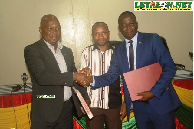 Promotion du sport au Burkina: Un partenariat scellé entre l'AJSB et le Conseil régional du Centre