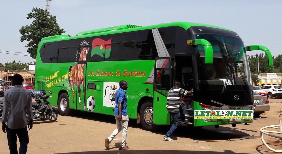 FBF : Un nouveau bus de 113 millions F CFA pour les Etalons